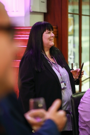 Melanie Sharpe, Co-Chair of the University's Disabled Staff Network